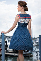 Abandon Ship Collar Dress