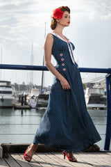 Abandon Ship Maxi Dress