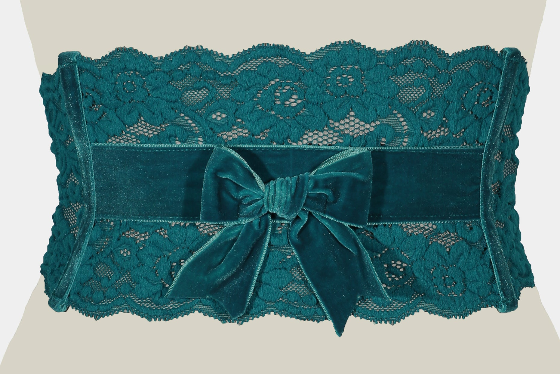 Audrey Lace Belt (Teal)