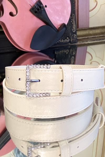 Stardust Belt (Cream)