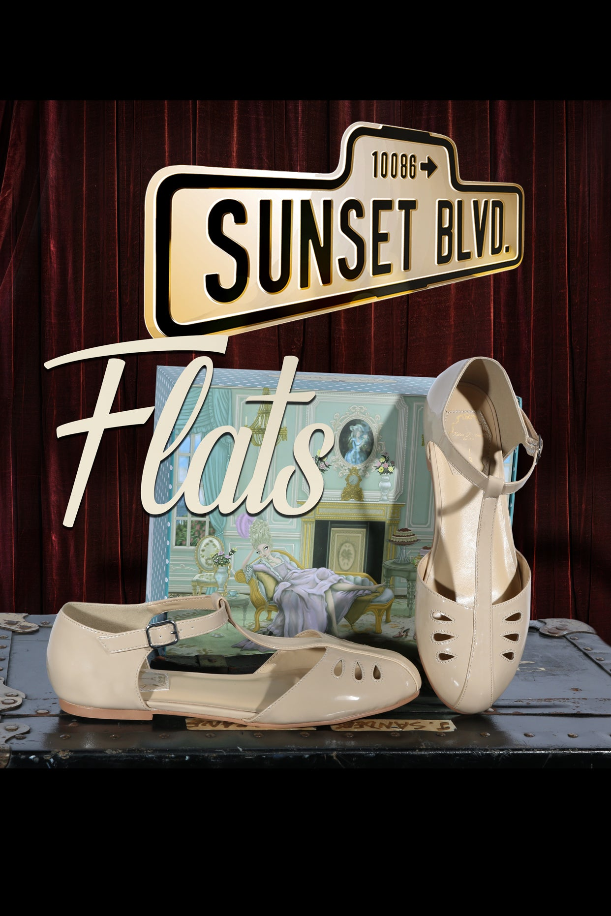 Sunset Boulevard Shoe (Beige)