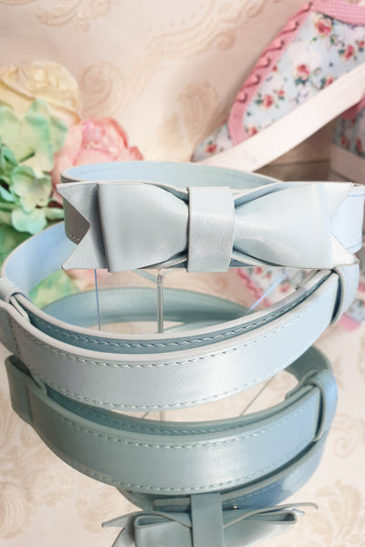 Charm School Belt (Baby Blue)