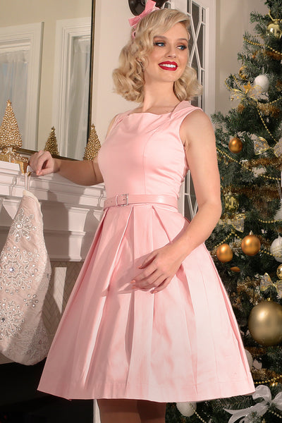 Christmas 1963 Harlow Dress (Pink)
