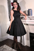 Eternity Button Dress (Black)