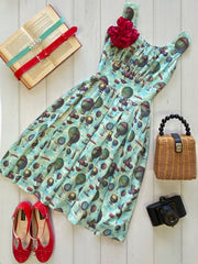 Up Up and Away Gather Dress