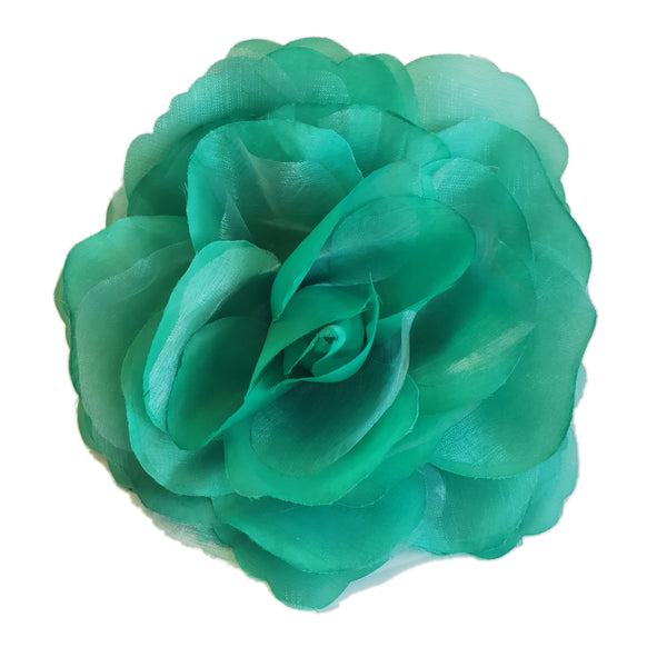 Large Flower Bomb Clip (Emerald)