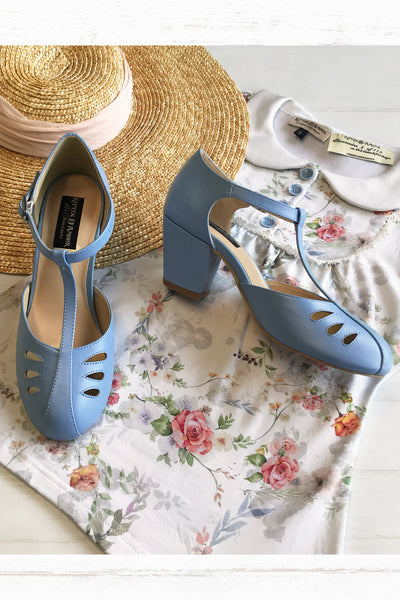 Gatsby Shoe (Blue)