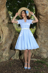 In The Meadow Button Dress