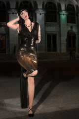 Kiss Me Deadly Sequin Dress
