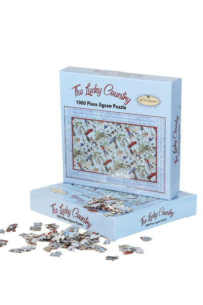 Kitten D'Amour Jigsaw Puzzles (The Lucky Country)