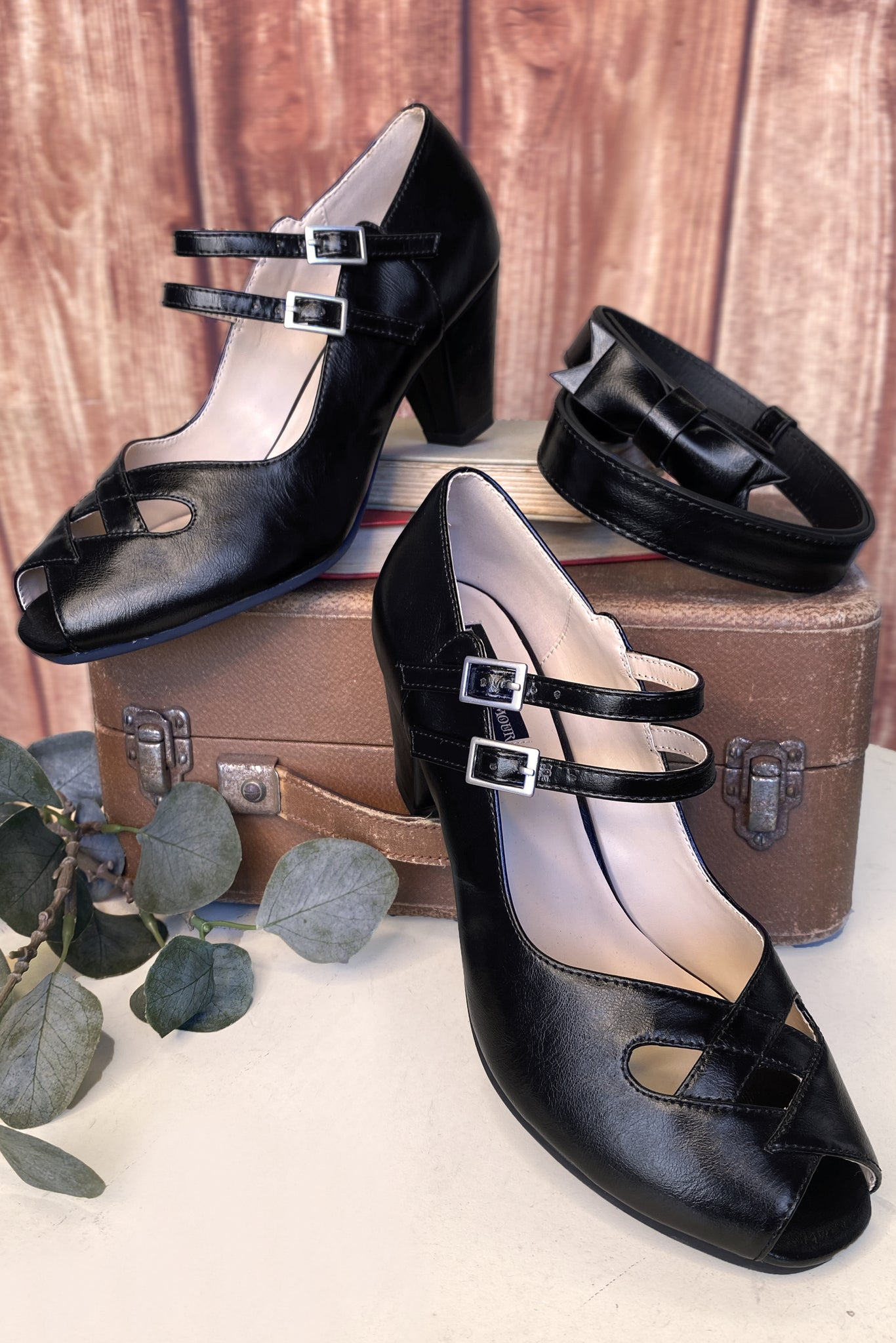 The Lucky Country Shoe (Black)