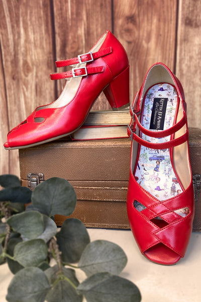 The Lucky Country Shoe (Red)