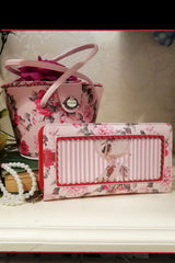 La Femme De Paris Pill Box Bag (Floral)