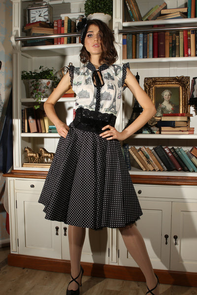 La Parisienne Full Skirt (Spot)
