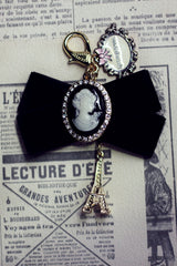 D'Amour Luxury Cameo Keyring