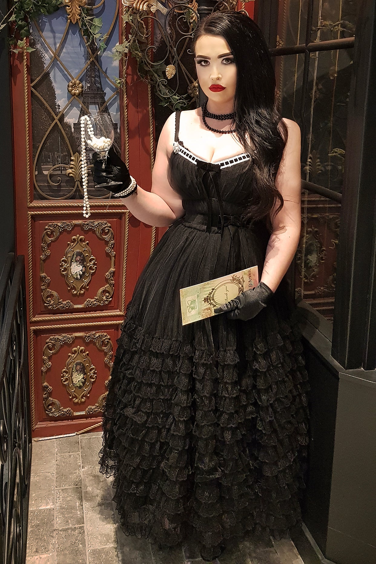 La Parisienne Nuit Opera Dress