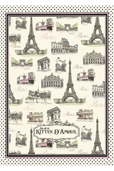 La Parisienne Tea Towel