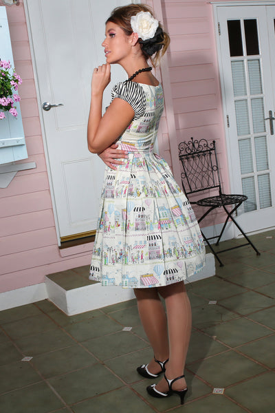 La Petite Boutique Collar Dress (Print)