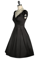 La Petite Boutique Collar Dress (Black)