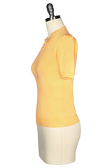 D'Amour Keyhole Knit Top (Sunflower)