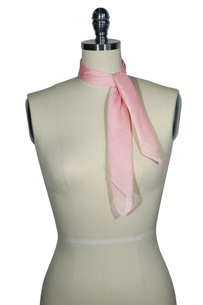 D'Amour Sheer Scarf (Dusty Pink)