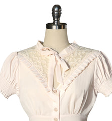 Madame Butterfly Blouse (Cream)