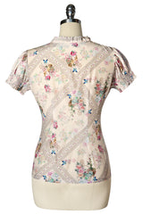 Madame Butterfly Blouse (Print)