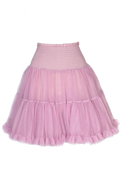 Luxury Shirred Petticoat (Mauve)