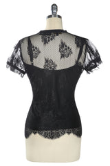 Music Box Lace Camisole (Black)