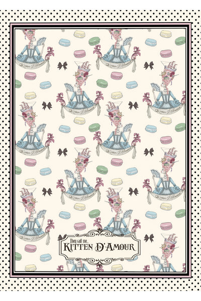 Macaroons Tea Towel