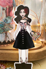 Kitten D'Amour Dress Up Doll
