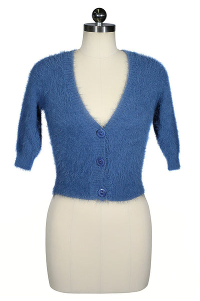 Minx Cardigan (Denim Blue)