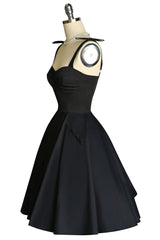 My Giddy Aunt Bustier Dress (Black)
