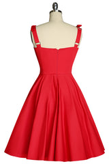 My Giddy Aunt Bustier Dress (Red)