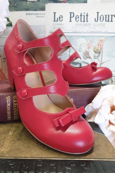 The Ritz Shoes (Red)