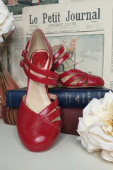 Broadway Shoe (Red)
