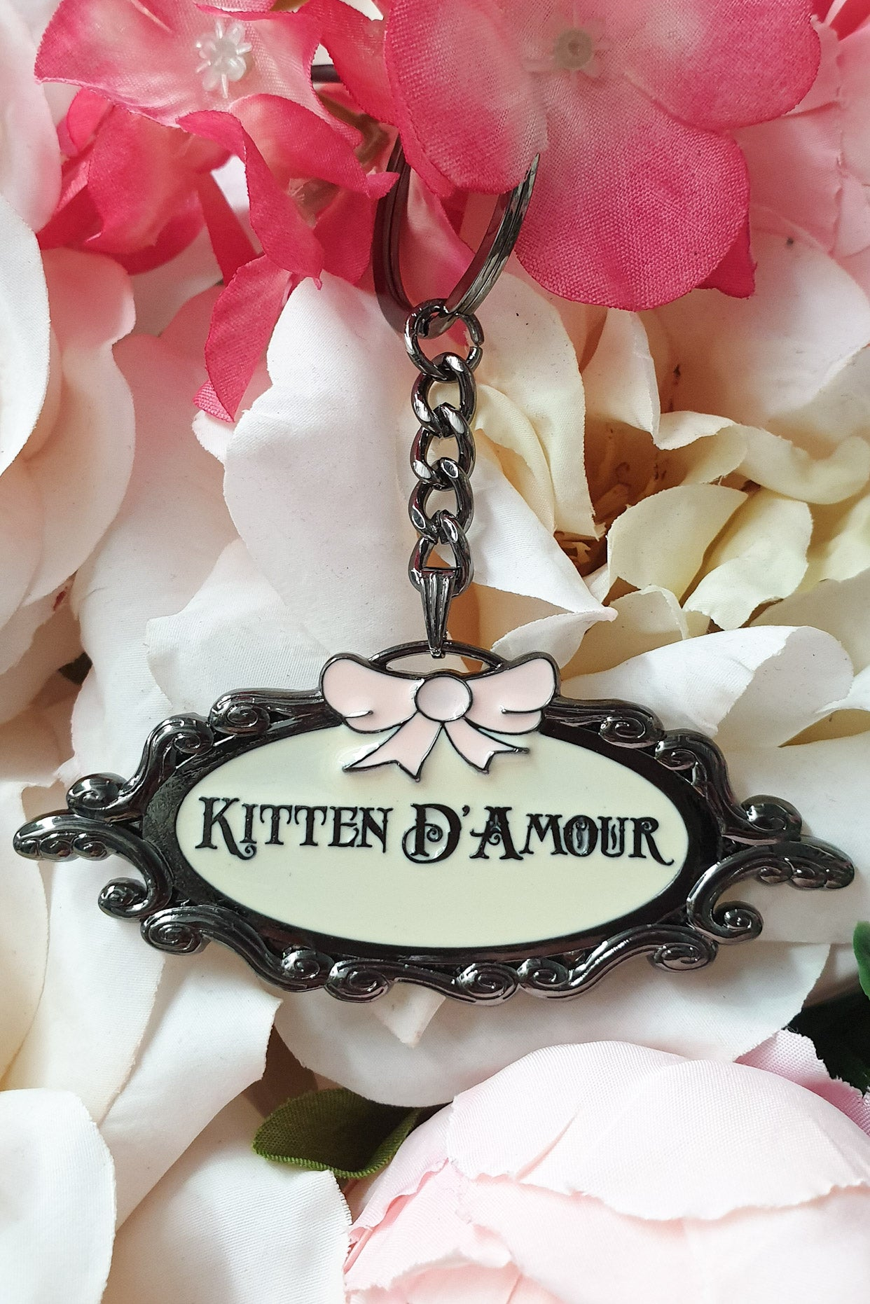 Kitten D'amour Key Chain