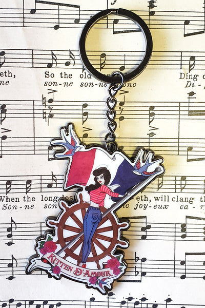 D'Amour Sailor Keyring