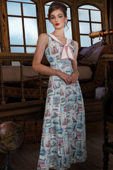 Postcards From Moscow Maxi Dress
