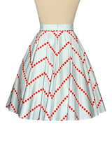 Postcards From Moscow Chevron Spot Skirt