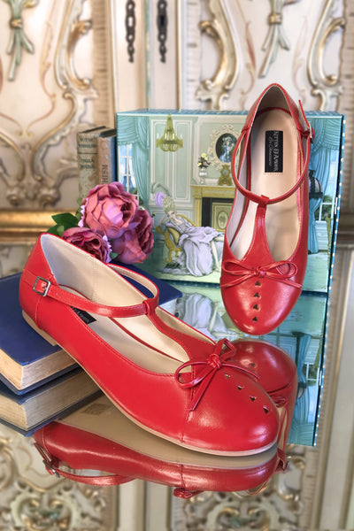 Prima Ballerina Shoe (Red)
