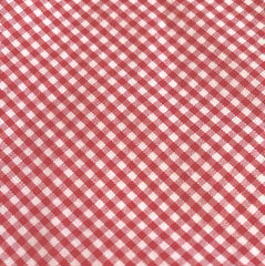The Lucky Country Shirred Top (Red Check)