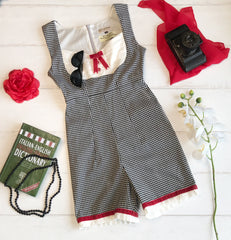 Roman Holiday Playsuit