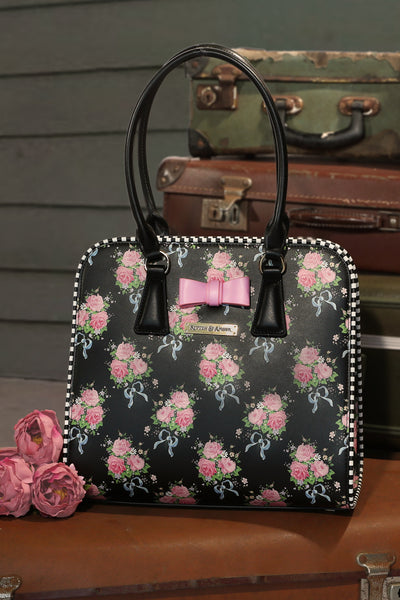 Ribbons And Roses Handbag