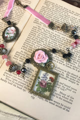 Ribbons and Roses Necklace