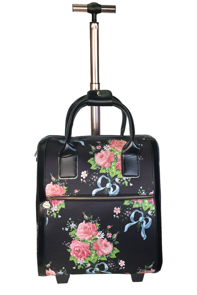 Ribbons And Roses Overnight Bag