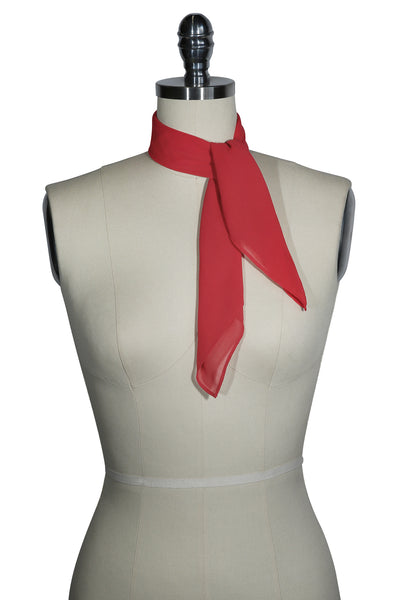 D'Amour Plain Scarf (Red)