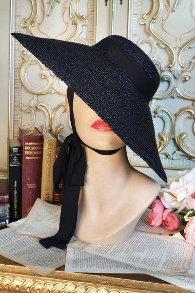 Riviera Hat Black
