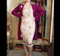 Madame Butterfly Wiggle Dress