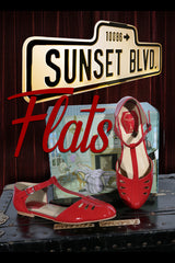 Sunset Boulevard Shoe (Red)